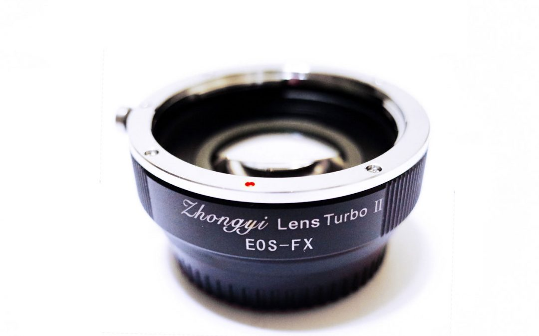 NEW Zhongyi Canon EF – Fuji X Lens Turbo Adapter Mark II is released!
