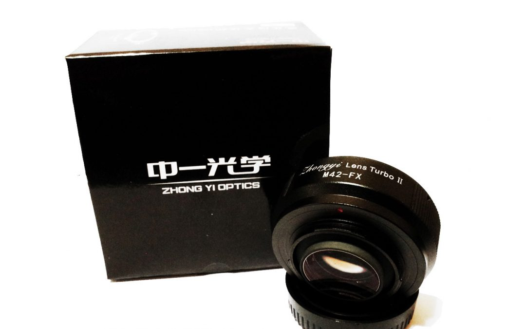 Official release of the Zhongyi Lens Turbo (M42-Fuji X) ver II
