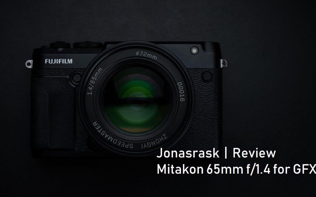Mitakon 65mm f/1.4 for GFX review by Jonasrask